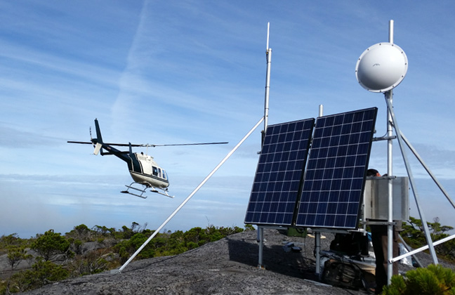 Solar at Heli Lodge