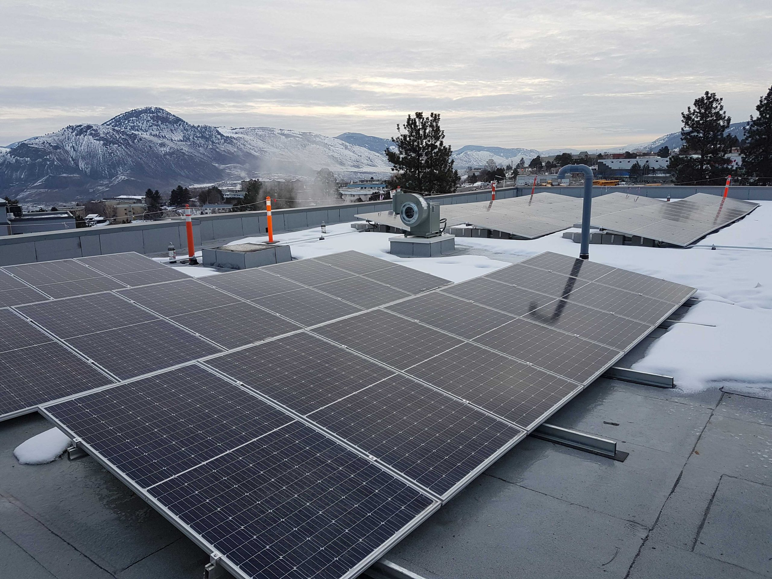 Thompson River University Institutional Solar Kamloops