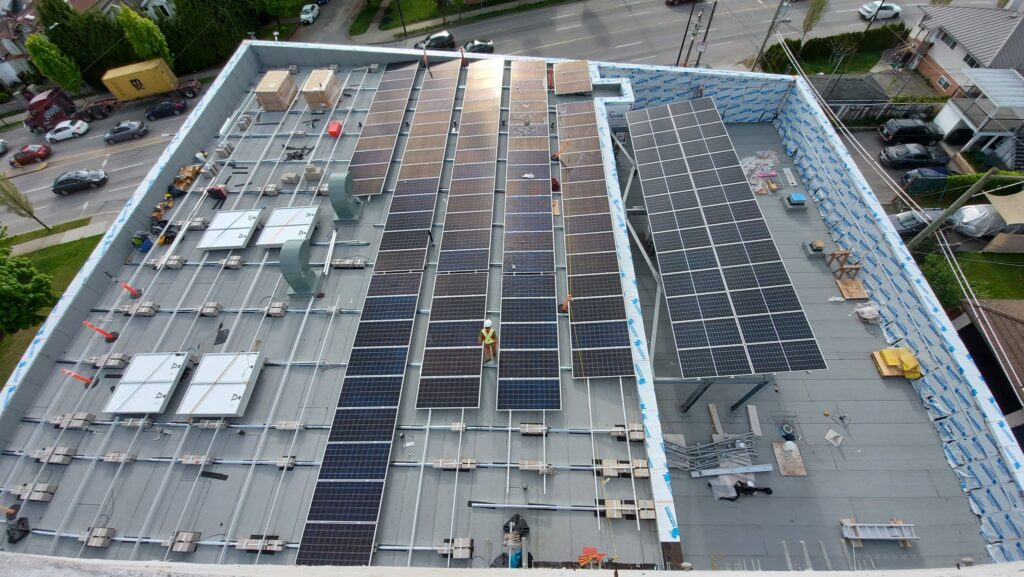 Vancouver Fire Hall 17 Solar
